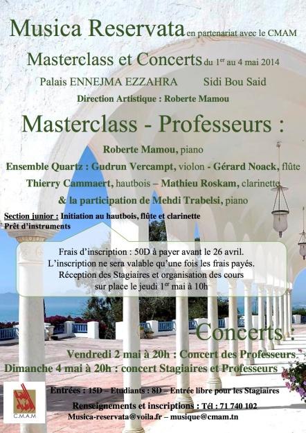 affiche-Master-Class-Tunisie-