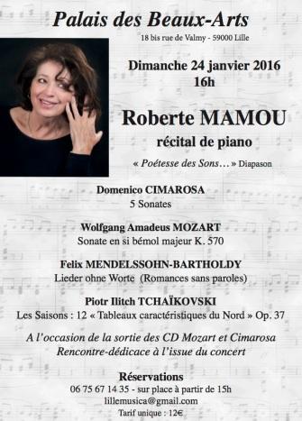 Concert 24 Janvier 2016 Lille