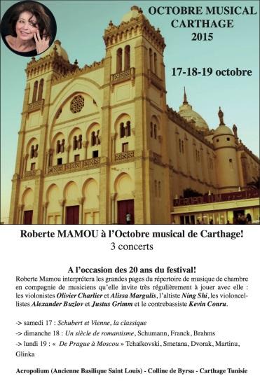 Octobre Musical de Carthage 2015