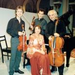 Avec Olivier Charlier, Laurent Verney, Dorel Fodoreanu